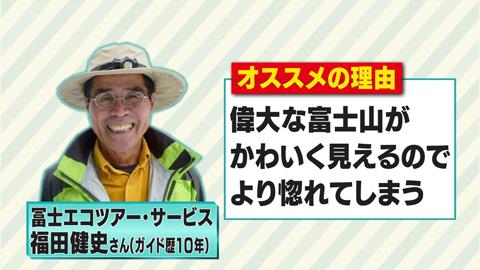 【0116】偉大な富士山がかわいく見えるので冨士エコツアー・サービス福田健史