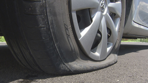 タイヤトラブル